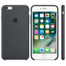 iPhone 6s Silicone Case Charcoal Gray Apple