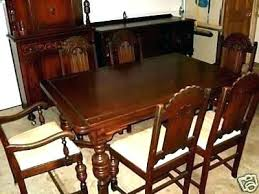Antique Oak Dining Table And Chairs For Sale Room