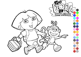 Full Size Of Coloring Pagedora Games For Free Page Dora