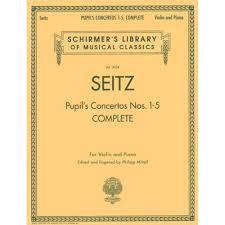 100 Fritz 5 Seitz Friedrich Pupils Concerto Nos 1