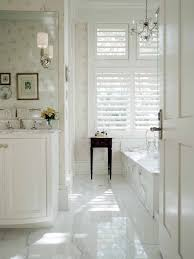 White Gloss Bathroom Floor Tiles 21 2 3