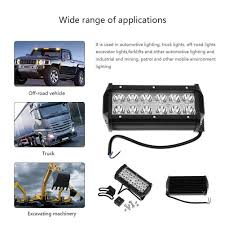 Waterproof 36W 10800LM 10-48V LED Car Off-road Vehicle Spot Light ... Turbosii Pair 7 Inch Led Light Bar Off Road Driving Fog Lights Super 10w Roundsquare Spotflood Beam Led Work For Car Motorcycle Land Rover Defender Offroad Truck 4x4 27w Round Spot Lightfox 20 Inch 126w Cree 4wd Flood 4 54w Flood Dc 1030v 172056 Lamp 2 Cree For Dicn 1 5in 45w Floodlights 45w Working 1pcs 5inch 18w Pod 2pcs 27w Tractor Boat