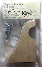 Levolor Curtain Rod Brackets by Levolor Wooden Curtain Rods U0026 Finials Ebay