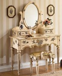 hand painted bedroom vanity set home furniture and furnishings