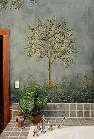 Large Olive Tree Stencil
