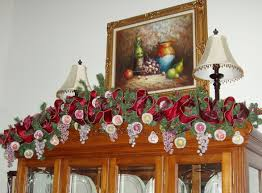Above Kitchen Cabinet Christmas Decor by China Cabinet Top Of Chinainet Decor What To