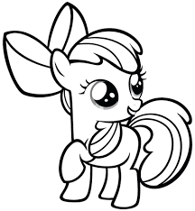 Coloring Pages My Little Pony Print Free Printable For Picture Pdf Rainbow Dash