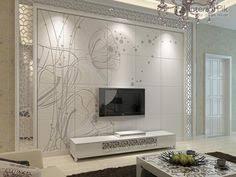modern floor tiles design for pleasing living room wall tiles