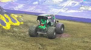 100 Monster Truck Show Columbus Ohio Grave Digger Wins Jam 2014 YouTube