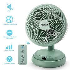 luftzirkulator ventilator fochea 38w leise turbo ventilator mit fernbedienung automatisch oszillierend 3 geschwindigkeiten 7 stunden timer