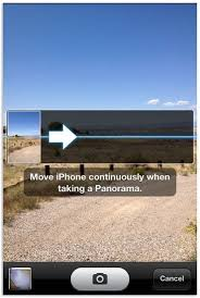 How to take a panoramic photo with iOS 6 CNET
