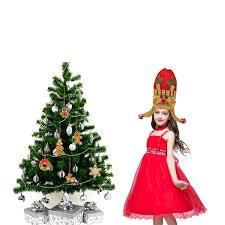 Christmas Party Santa Claus Reindeer Snowman Hat Red Children