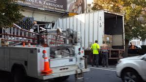 100 Stevens Truck Driving School Waste Management Truck Stuck Under Bridge In Downtown Spokane The