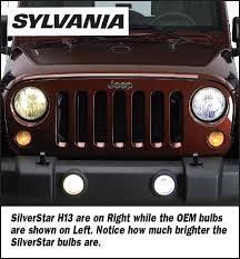 sylvania h10st 9145st silverstar h10 halogen fog light upgrade