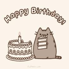 Happy Birthday Cat GIF HappyBirthday Cat GIFs
