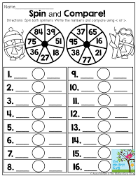 Spin And Compare Comparing Numbers Has Never Been This FUN