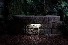 led retaining wall lights new lighting ideas for within