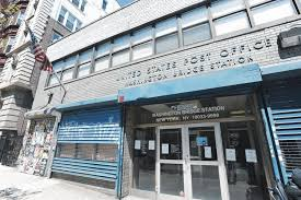 Sad change of address for Washington Heights post office NY