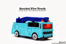100 Snorkel Truck Garagem Hot Wheels Matchbox Fire