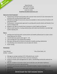 Resume Templates Social Worker Exceptional Sample Pdf Service Objective Free Large