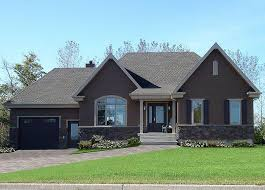 Front Country Rustic Style Ranch Bungalow House Plan With Open Floor Office And Large