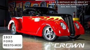 100 Powerblock Trucks 1937 Ford Pickup Crown Concepts