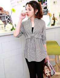 New Design 2014 Fashion Tops For Women Office Ladies Summer Plaid