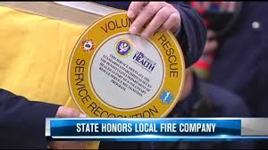 Emmaus Halloween Parade Route by Community Fire Company Of New Tripoli Honored Wfmz