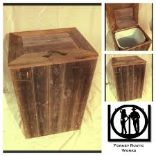 best 25 wooden trash can ideas on pinterest indoor recycling