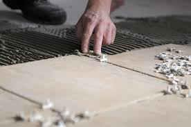 how to install ceramic floor tile on concrete gallery tile