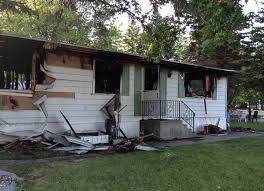 Old Mobile Home Fire