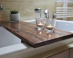 Teak Wood Bathtub Caddy by Bathtub Caddy Etsy