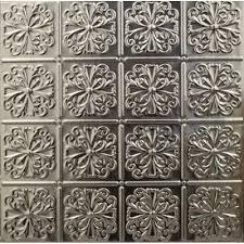 127 tin metal ceiling tile parisian floral