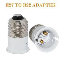 best e27 b22 l holder converter bayonet socket e27 to b22 ls