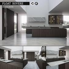 Kitchen Float Rovere Modulnova Render Vray 32 And Corona