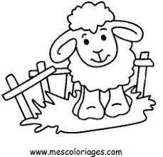 Sheep Printable Coloring Pages