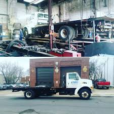 100 Commercial Truck Alignment A Semi Flatbed In For An Alignment We Do Insert Shims And Will Bend