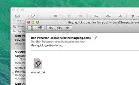 Mac tip Why do Outlook mail messages arrive as