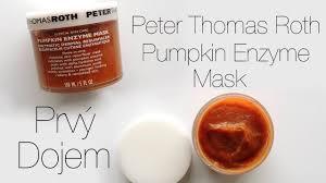 Pumpkin Enzyme Peel by Peter Thomas Roth Pumpkin Enzyme Mask Prvý Dojem Youtube