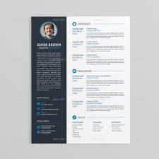 Letter Template Psd Resume Templates Modern Resume Cover Letter