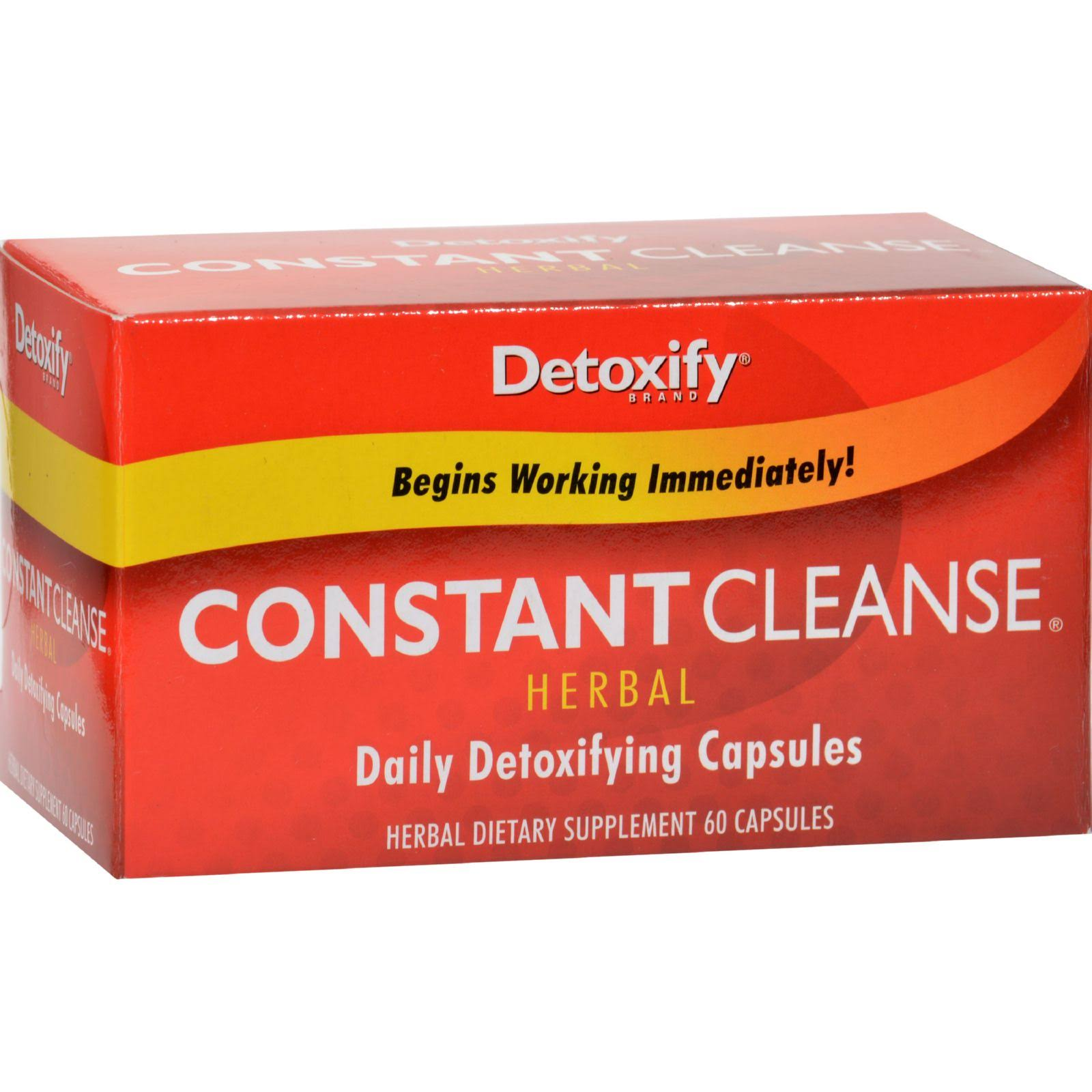 Detoxify Constant Cleanse Herbal - 60Caps