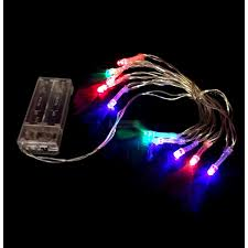 7 99 rgb 1m battery powered led string lights lights