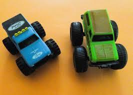 VTG 80's McDonalds Toy Ford Blue Bigfoot Monster Pickup + Ford ...