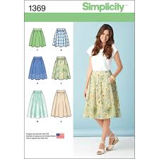 Simplicity 681012Misses Skirts Pants JOANN