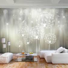 details zu vlies fototapete blumen pusteblume tapete wandbilder wohnzimmer 3 farb 107