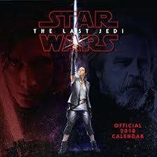 le de bureau wars calendrier 2018 wars rogue le dernier jedi episode 2017