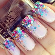 80 Attractive Glitters Nail Arts To Try ce