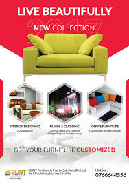 Furniture Flyer Design