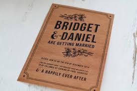 Wooden Invitation Wedding Invitations Vintage Rustic Woodgrain Design Stationery Custom Melbourne Sydney Perth Adelaide