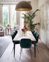 petrolfarbene stühle scandinavian dining room beautiful